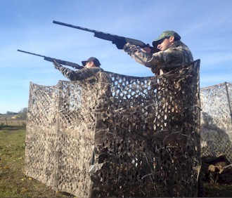 DOVE SHOOTING